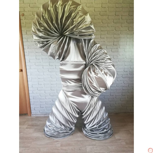 Slinky Costume SILVER Version (With free bag) - Photo 11