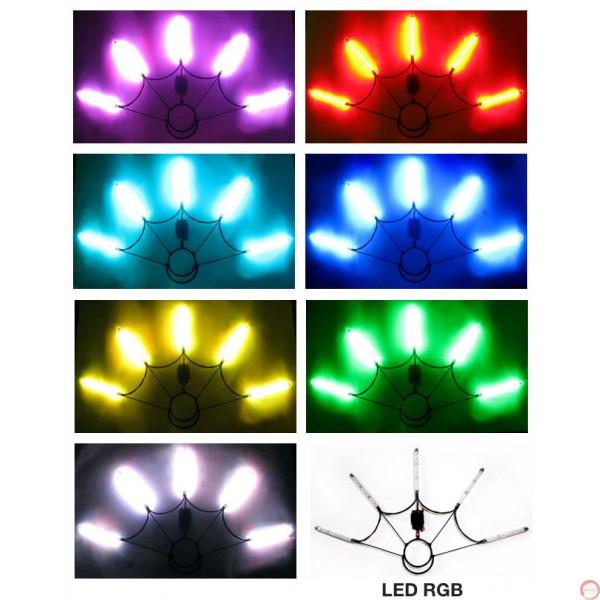 Poi Fan LED verious colours  - Photo 4