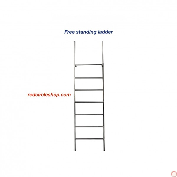 Free standing ladder not demountable 2m. PRICE UPON REQUEST - Photo 2