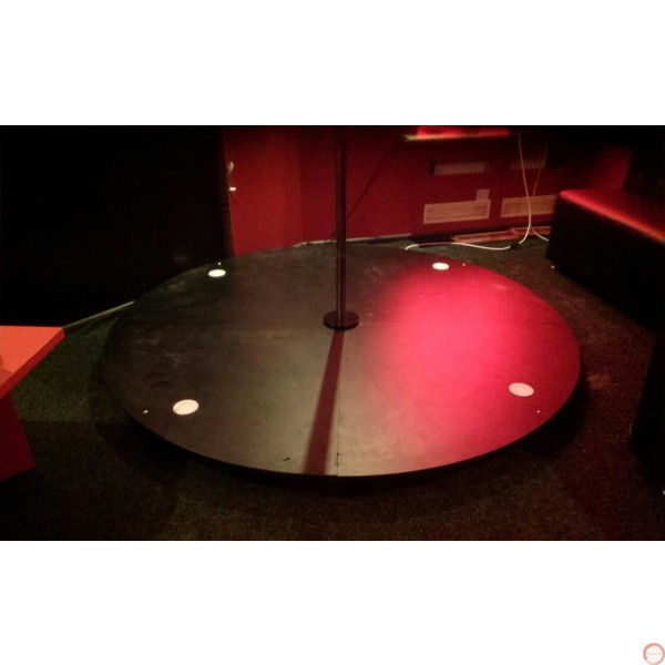 Pole with pedestal for acrobatic dance, spinning. - Photo 35
