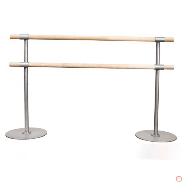 Portable Ballet double wood horizontal barres # 2  - Photo 7