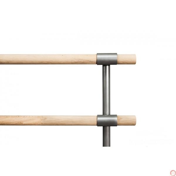 Portable Ballet double wood horizontal barres # 2  - Photo 6