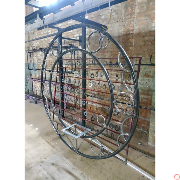 Aerial ring / hoop with additional supports and seat (Customized, request your free quote) - Photo 21