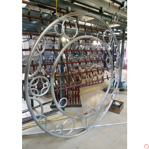 Aerial ring / hoop with additional supports and seat (Customized, request your free quote) - Photo 23