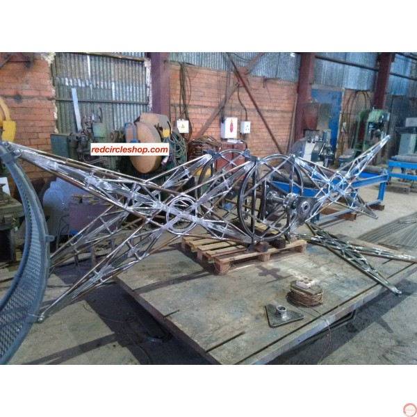 PRICE ON REQUEST. The American wheel of death (2-arms swing) on supports, reinforced shtamber - Photo 10