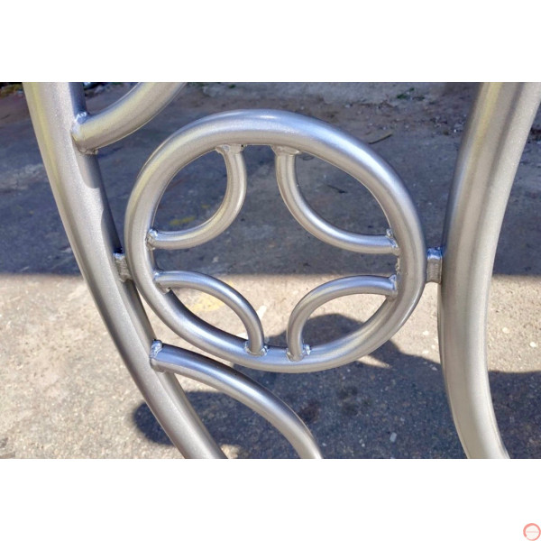 Aerial ring / hoop with additional supports and seat (Customized, request your free quote) - Photo 22