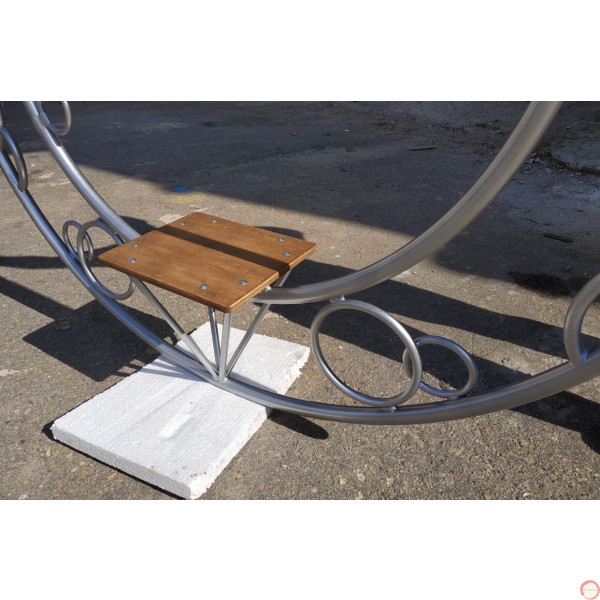 Aerial ring / hoop with additional supports and seat (Customized, request your free quote) - Photo 25