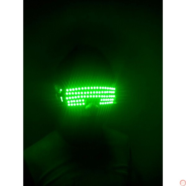 LED DJ Glasses (contact for pricing) - Photo 5