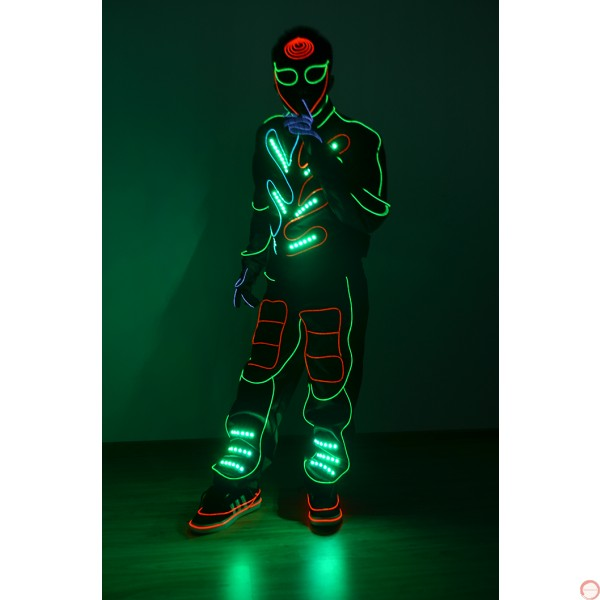"""LED cold light cosume for """"talent show"""" - Photo 8"""