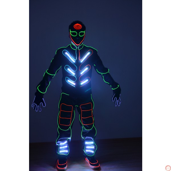 """LED cold light cosume for """"talent show"""" - Photo 6"""