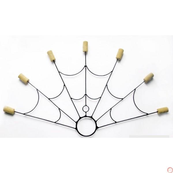 Poi Fire Fans (7 headed fan) Ceramic cord - Photo 5