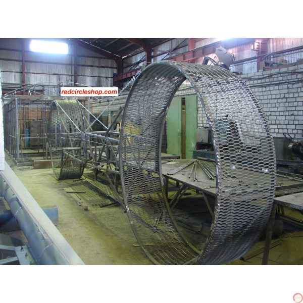 PRICE ON REQUEST. The American wheel of death (2 ор 3 arms swing) on the supports - Photo 21