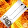 Fire Poi Comets (Ceramic cord) - Photo 2