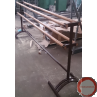 Portable  2 - Sided Ballet barres with 4 wood horisontal barres - Photo 1