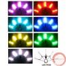 Poi Fan LED verious colours  - Photo 2