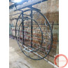 Aerial ring / hoop with additional supports and seat (Customized, request your free quote) - Photo 8