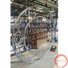 Aerial ring / hoop with additional supports and seat (Customized, request your free quote) - Photo 10