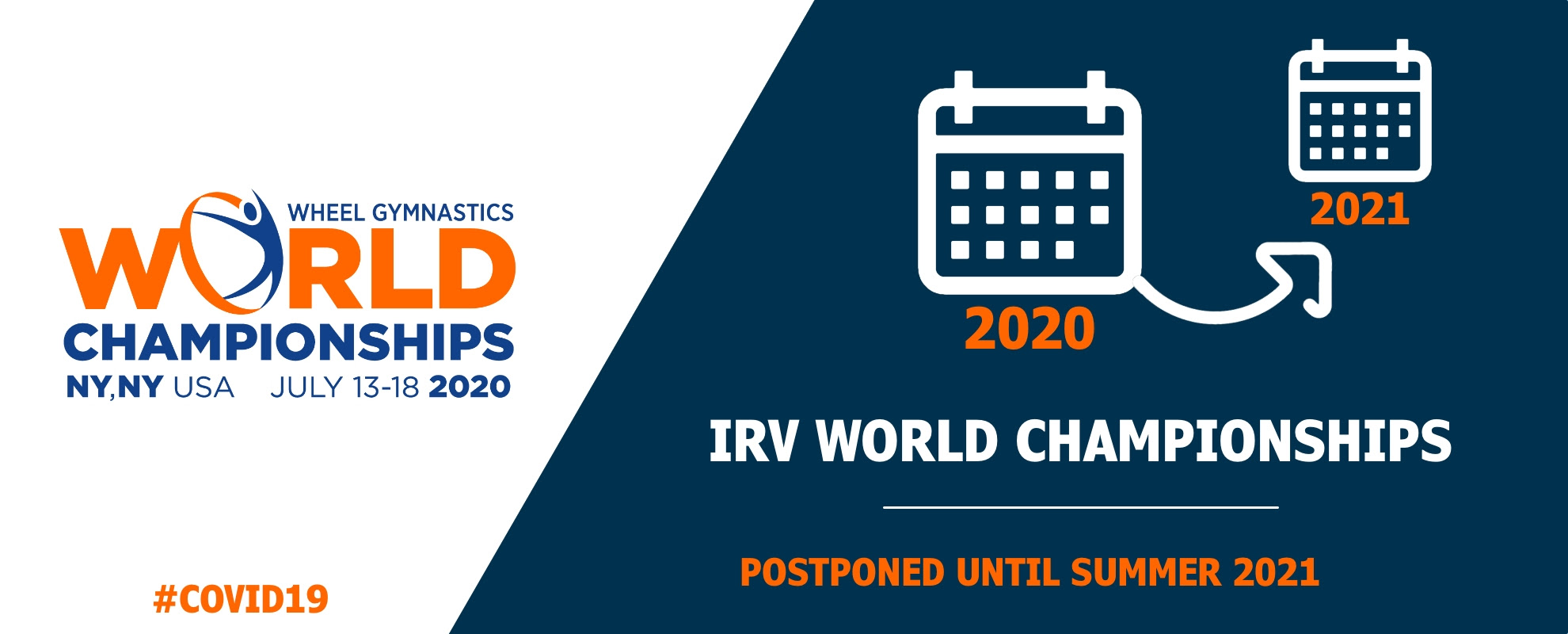 IRV Championship postponned until 2021